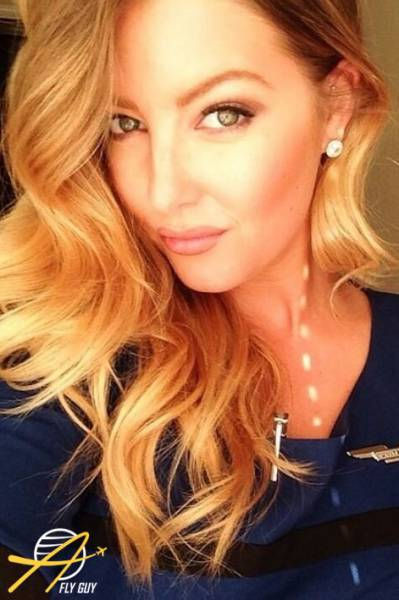 Female Flight Attendant Selfies From Around The World