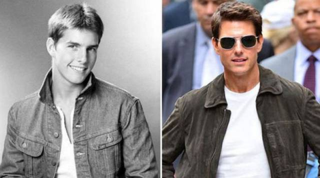 Interesting Photos Of Celebrities Back Then And Now