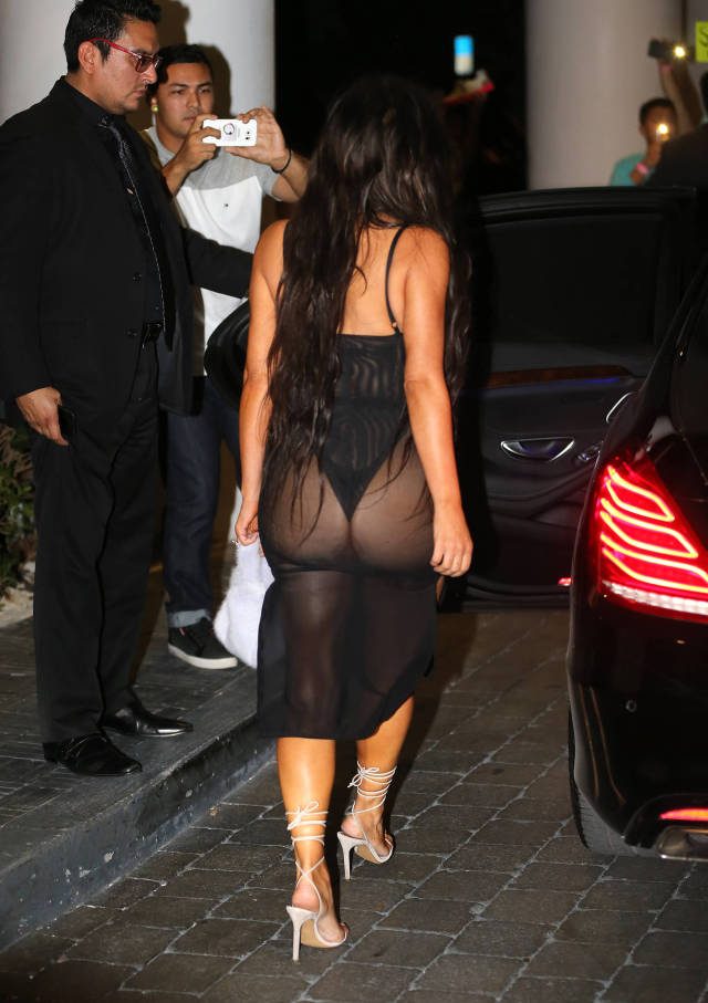 Kim Kardashian's Outfits That Leave Nothing To The Imagination