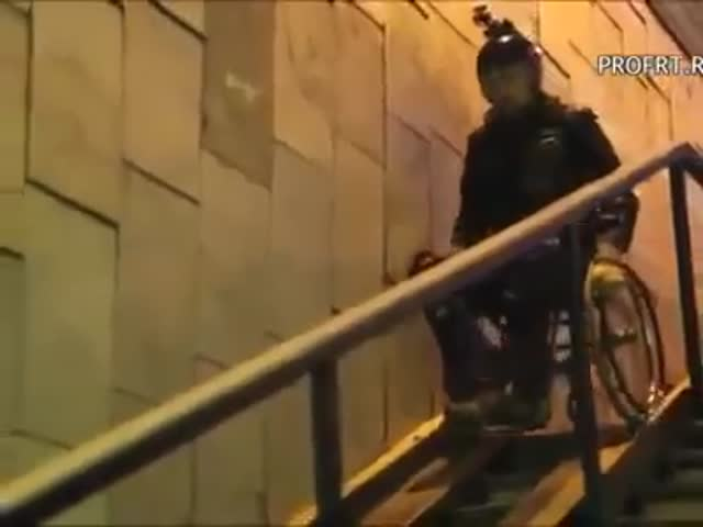 A Stuntman Tested Wheelchair Ramps Himself In Russia