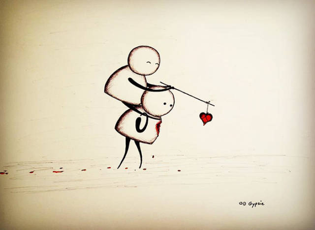Dark Comics About Love, Pain, Life