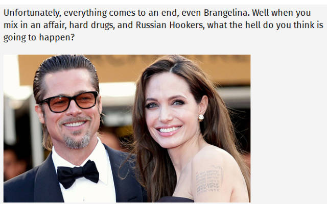 Juicy Titbits About 'Brangelina' Divorce
