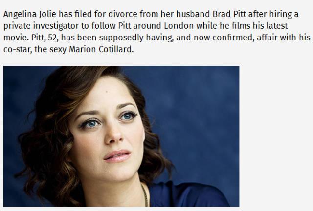 Juicy Titbits About 'Brangelina' Divorce