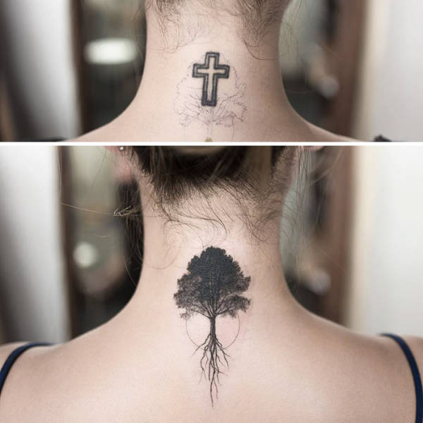 Lovely And Delicate Minimalist Tattoos By A Korean Artist