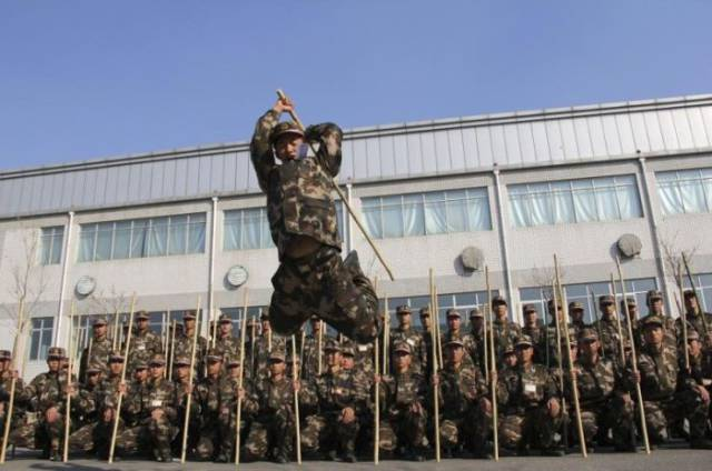 Training In The Chinese Army
