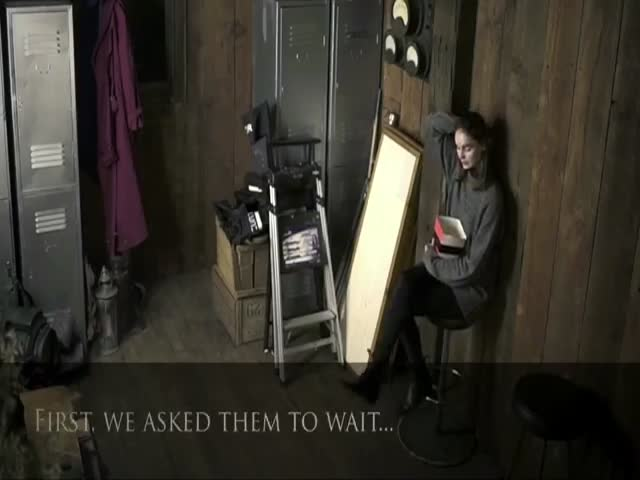 Hilariously Cruel Two Way Mirror Prank Inspired By The Conjuring 2