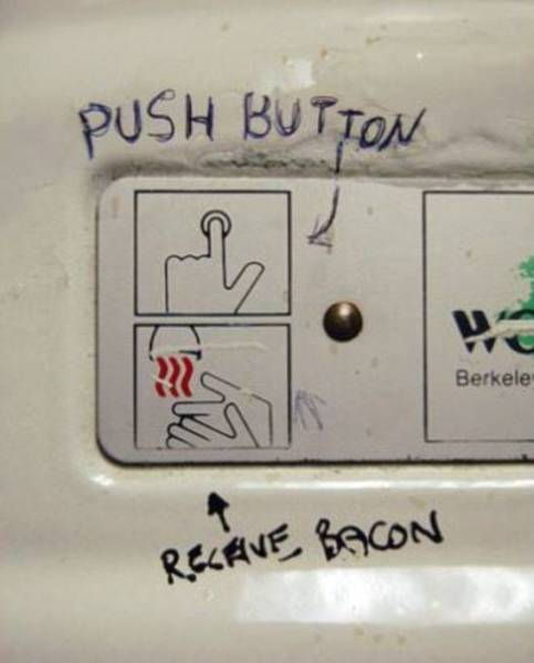 It's Much More Fun Using A Public Toilet If You Stumble Upon Some Funny Graffiti There