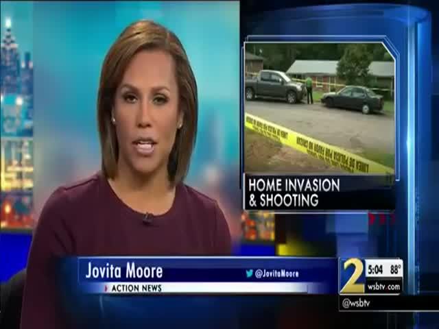 Woman In Atlanta Fearlessly Opens Fire On Three Armed Burglars