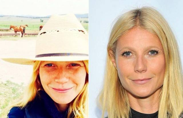 This Is How Some Of The Most Popular Celebs Look Without Makeup