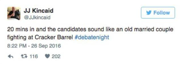 Funny Twitter Reactions To The Presidential Debate In The US