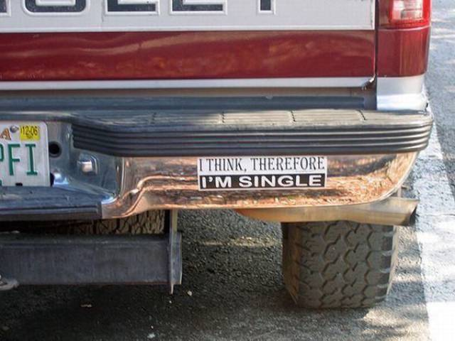 People Who Have These Bumper Stickers Have A Lot Of Humor As Well