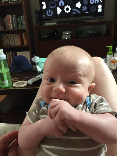 This Little Baby Has Facial Expressions Of An Adult And It's Hilarious