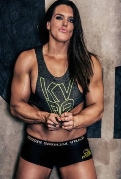 This MMA Fighter Chick Has Got More Muscles Than You