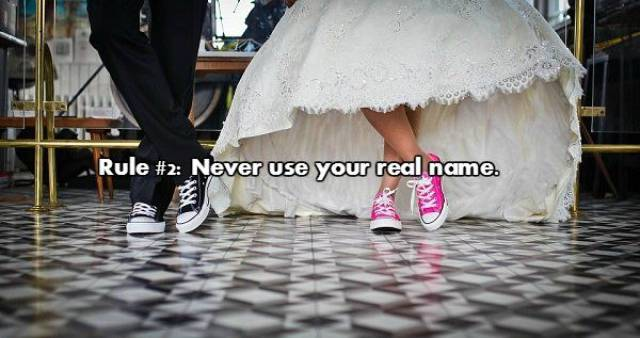 Basic Rules About How To Crash A Wedding