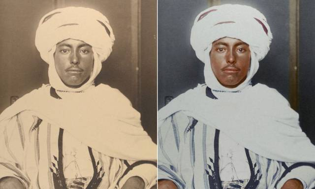 Colorized Black And White Photos Of Immigrants At Ellis Island