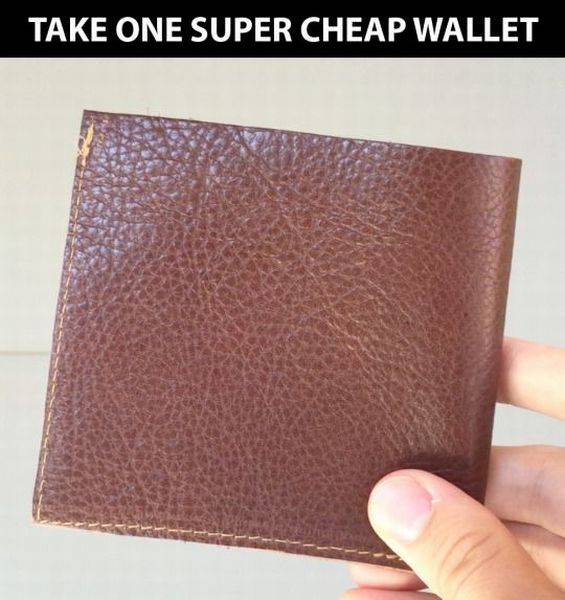 How To Make A Wallet With A Twist For Pickpockets