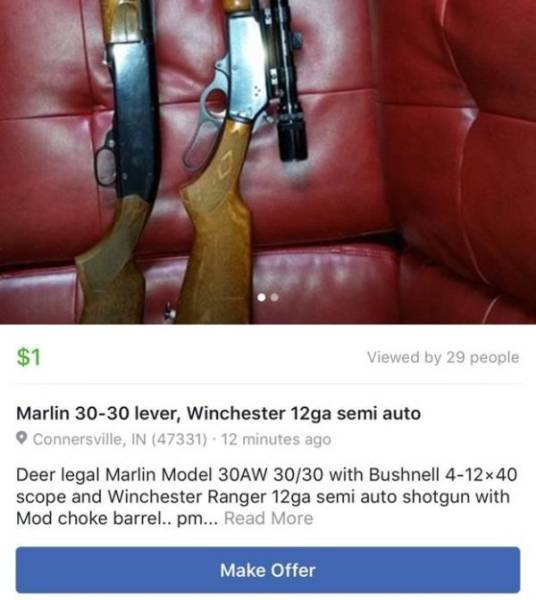 Facebook Marketplace Goes Very Wrong