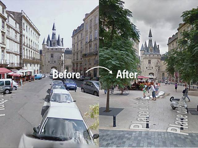 Amazing Transformations Of Public Spaces Caught On Google Street View
