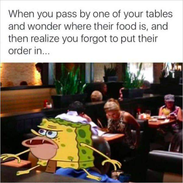 If You're A Waiter, You'll Understand