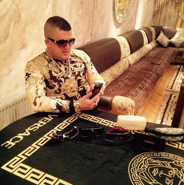 This Macedonian Guy's Passion For Versace Is A Little Too Much