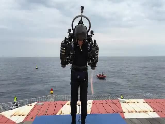 This JetPack Aviation Test Flight In Monaco Looks Impressive