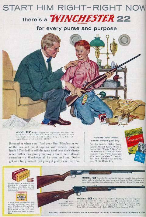 Crazy Retro Gun Ads That May Shock Some But Fascinate Others