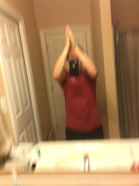 New Internet Trend: Taking A Picture While High-Fiving Yourself
