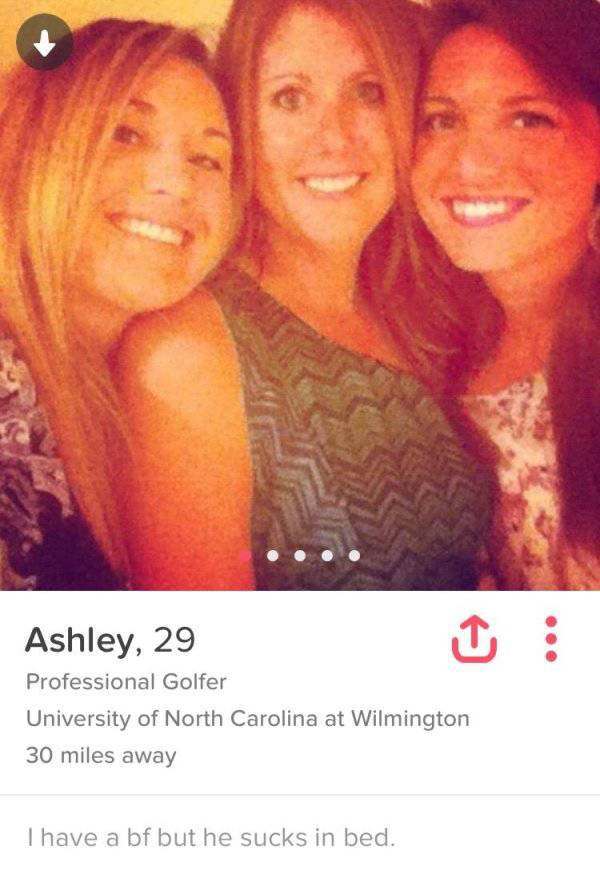 A Few Crazy Profiles On Tinder