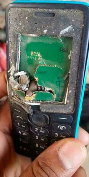 Nokia Phone Saved A Man's Life