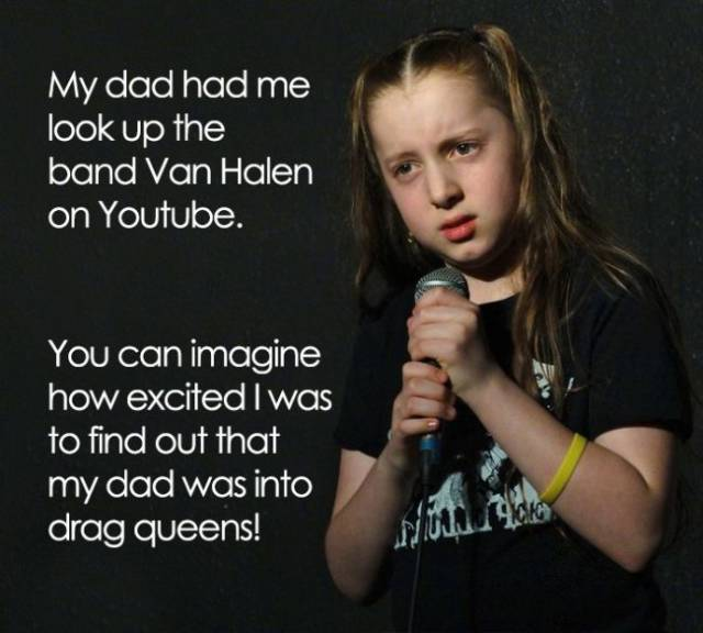 11-Year-Old Stand-Up Comedian Makes Awesomely Witty And Hilariously Inappropriate Jokes