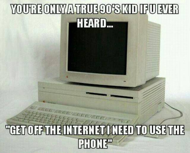 Only The 90s Kids Know The Struggle