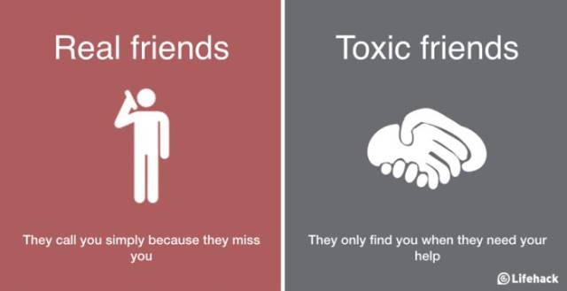 This Will Let You Know If You've Got Real Friends Or Toxic Friends