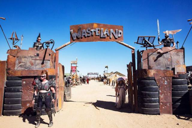 If You Dream Of Experiencing The 'Mad Max' Universe Then Wasteland Festival Is A Must Go!