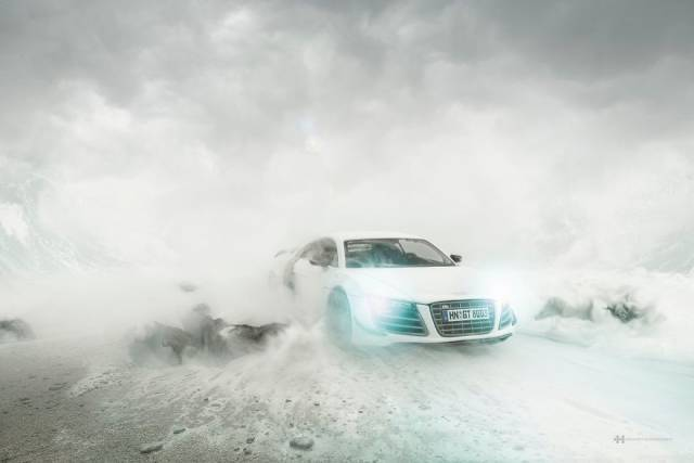 Photographer Makes A Stunning Photoshoot Of $160K Audi Without Actually Photographing The Car