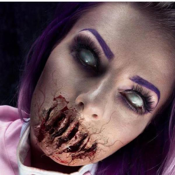 The Horror Makeup Of This Artist Will Send Shivers Down Your Spine