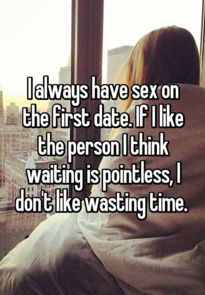 Women Give Their Reasons Why They Sleep With Guys On The First Date