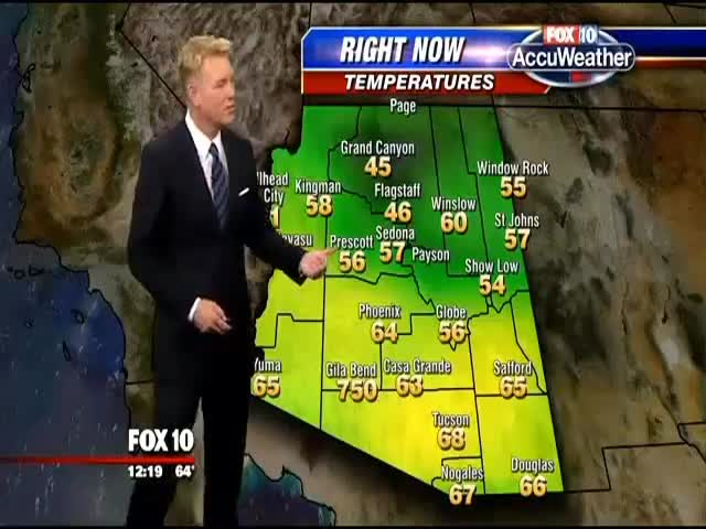 Meteorologist Makes Hilarious Comments About Freakishly High Temperatures In Arizona