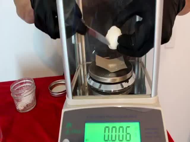 Guy Drinks A Small Amount Of Deadly Sodium Cyanide