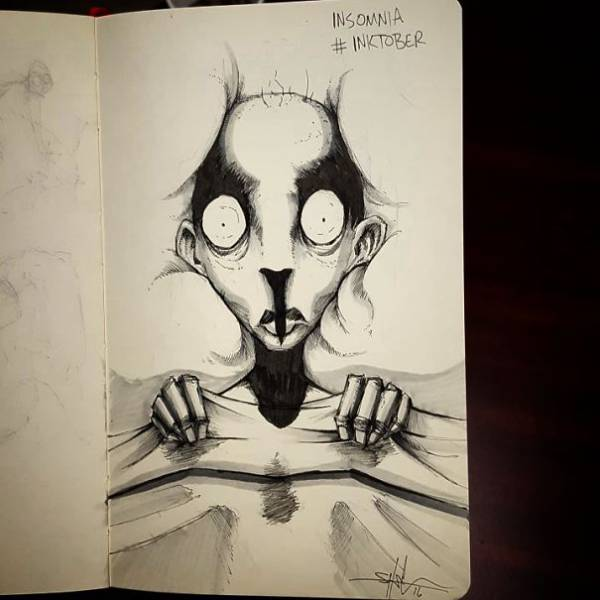 Guy Makes Brilliant Drawings Of Mental Illness And Disorders
