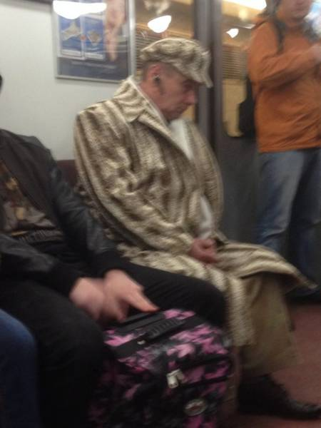 You Can See All Kind Of Sh#t On The Subway