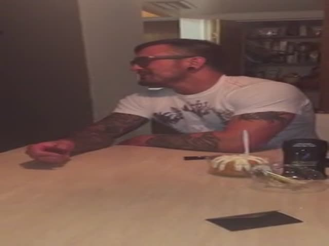 Step Dad Receives The Best Gift Ever For His Birthday
