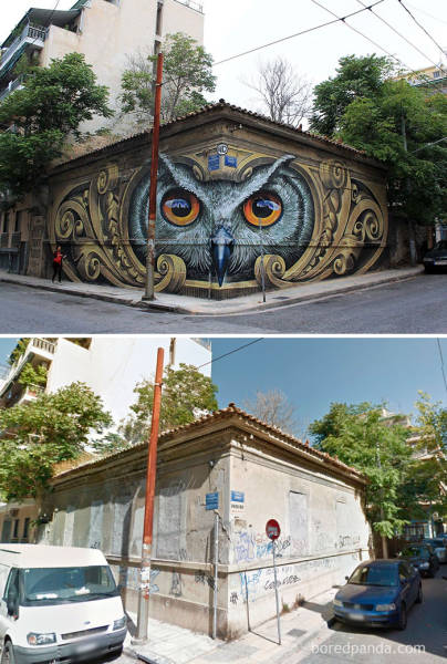 Dull And Faceless Buildings Are Being Transformed Into Something Great Thanks To These Street Art Masterpieces