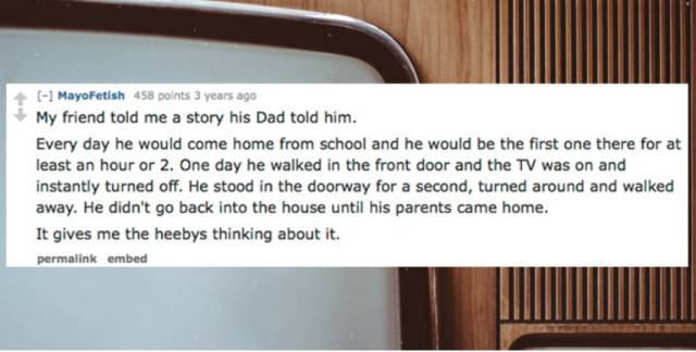 People Share Their Most Spooky Stories…