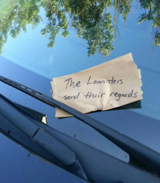 Some of The Best Passive Aggressive Notes Left For Jerks Who Don't Know How To Park Their Cars