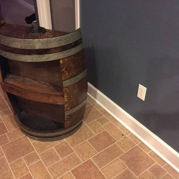 Man Installed A Cool-Looking Beer Tap In His Kitchen