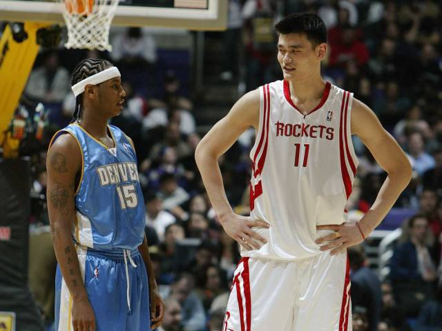 Photos Of Yao Ming Which Show How Big He Actually Is