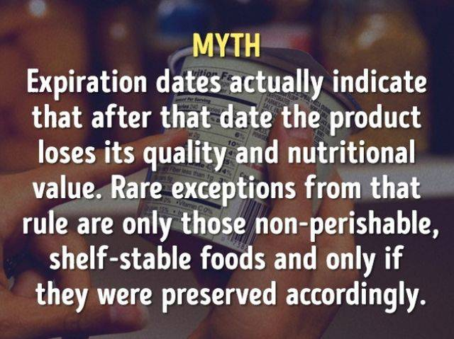 Myths And Truths About Food And Cooking