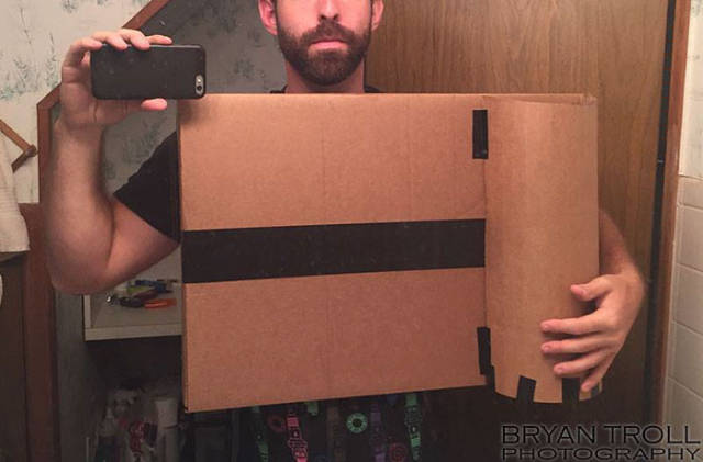 Guy Makes Camera Costume For Halloween That Actually Works