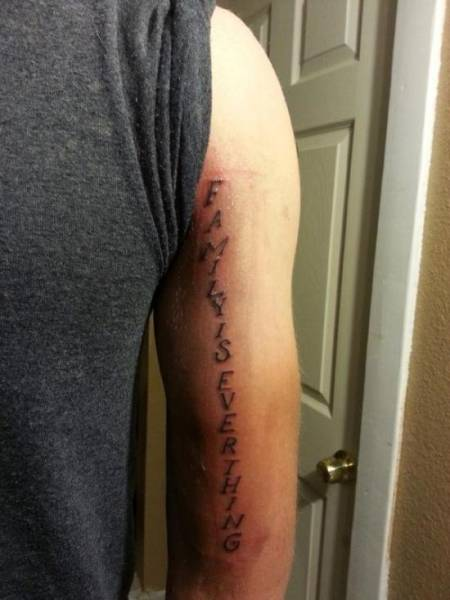 These People With Misspelled Tats Will Have 'Big Regerts' Soon Enough