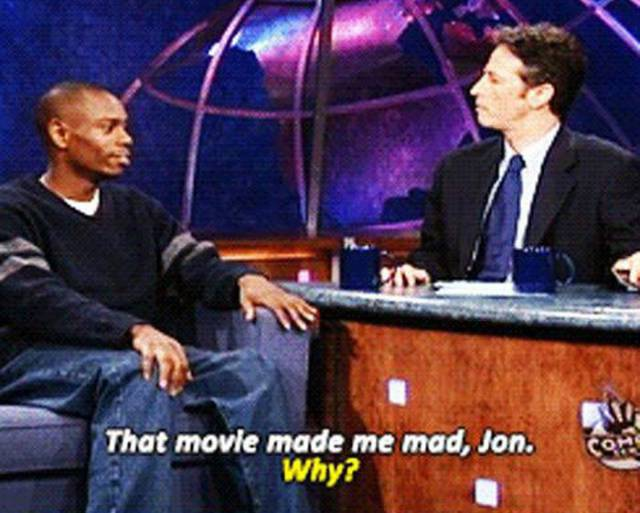 "Comedian Dave Chappelle Tells Why The ""Forrest Gump"" Movie Makes Him Mad"